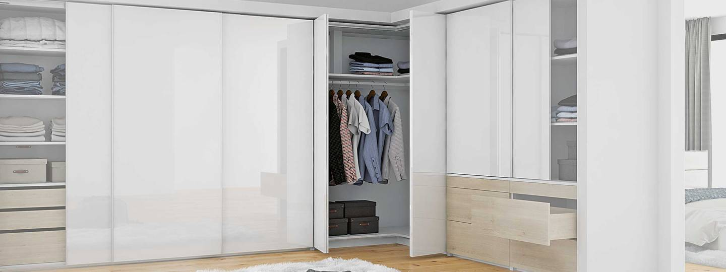 Fitting systems for wardrobe